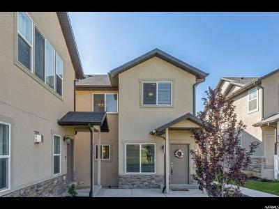 Eagle Mountain Townhouse For Sale: 3779 E Cunninghill S