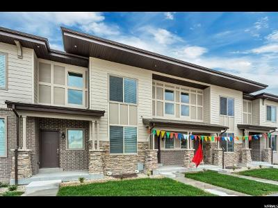 Riverton Townhouse For Sale: 12672 S Roll Save Ln W