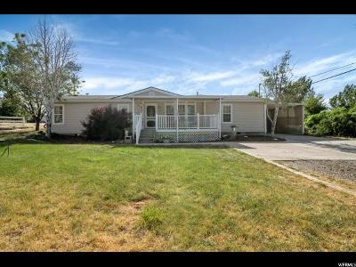 Santaquin Single Family Home For Sale: 490 S 100 W