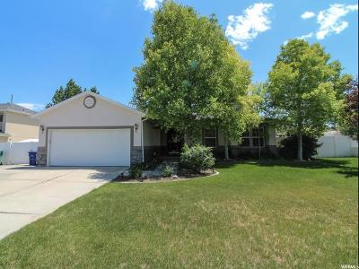 West Jordan Single Family Home For Sale: 5439 W Wheatridge Ln S