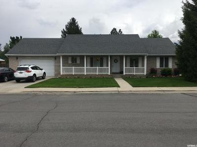 Orem Single Family Home For Sale: 848 W 260 S