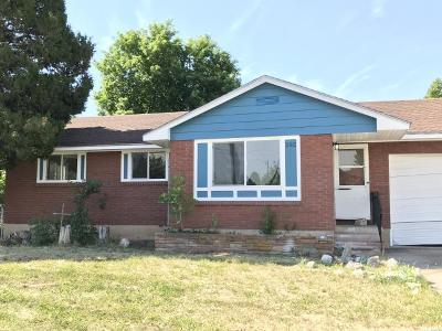 Layton Single Family Home For Sale: 192 W Gordon N