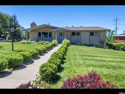Salt Lake City Single Family Home For Sale: 3166 E Oakcliff S
