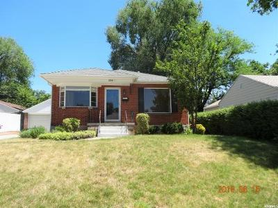 Salt Lake City UT Single Family Home For Sale: $380,000