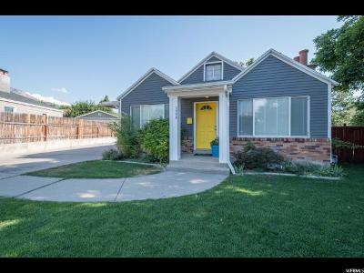 Salt Lake City Single Family Home For Sale: 1940 E 3375 S