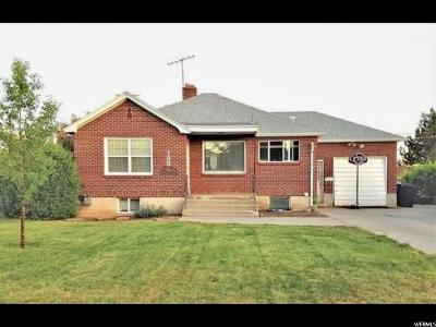 Orem Single Family Home For Sale: 133 W 800 S