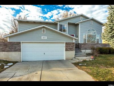 Orem Single Family Home For Sale: 1661 Springwater
