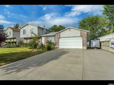 Taylorsville Single Family Home For Sale: 4811 S Bayport Way