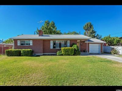 Orem, Provo Single Family Home For Sale: 26 E 1100 S