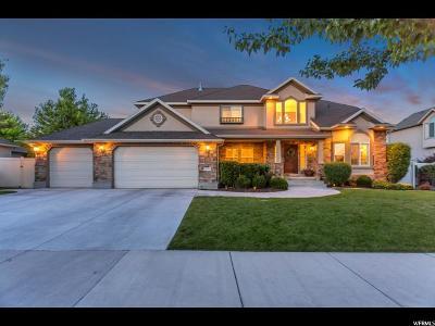 South Jordan Single Family Home For Sale: 11079 S Alta Crest Dr W