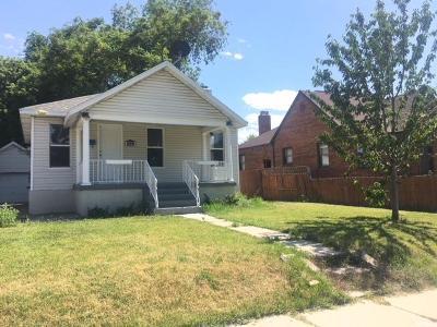 Salt Lake City UT Single Family Home For Sale: $339,000