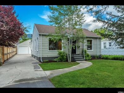 Salt Lake City Single Family Home For Sale: 2773 S Filmore St