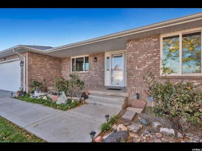 West Jordan Single Family Home For Sale: 8086 S Leslie Dr