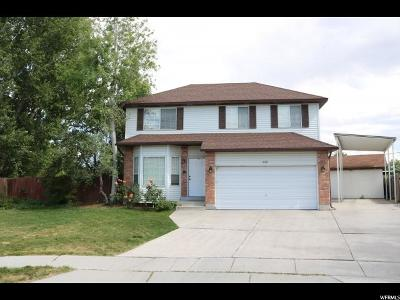 Taylorsville Single Family Home For Sale: 2321 W Sharron Dr