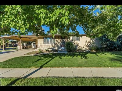 Midvale Single Family Home For Sale: 7031 S 160 E