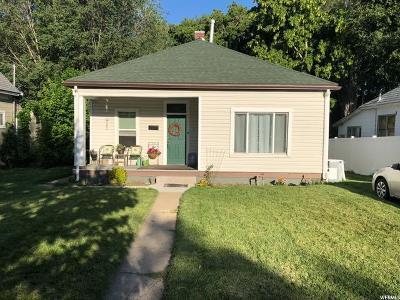 Ogden UT Single Family Home For Sale: $165,000