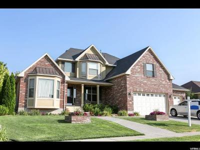 Kaysville Single Family Home For Sale: 1858 W Heywood Dr
