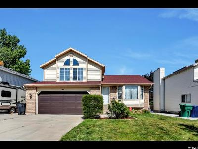 West Jordan Single Family Home For Sale: 6365 S April Meadows Dr W
