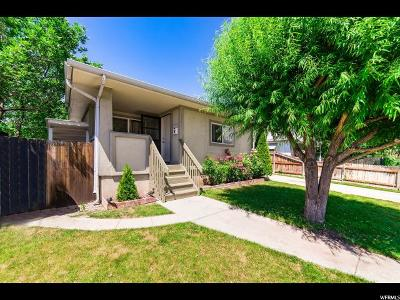 Salt Lake City Single Family Home For Sale: 137 E Wentworth Ave