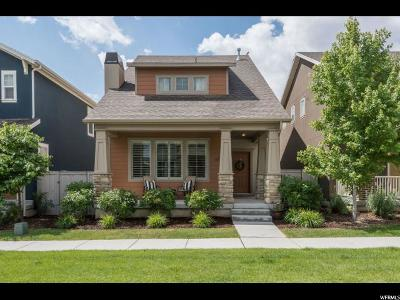 South Jordan Single Family Home For Sale: 10247 S Clarks Hill Dr W
