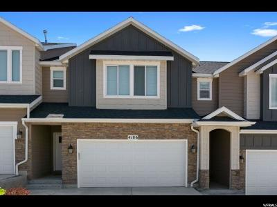 Lehi Townhouse For Sale: 4186 N Freemont Dr