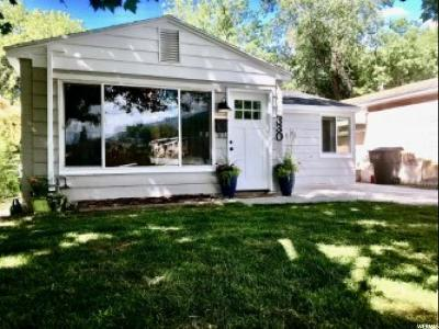 Brigham City Single Family Home For Sale: 330 W 100 N