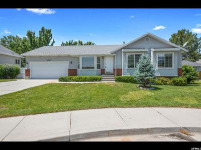 Salt Lake City Single Family Home For Sale: 4744 S Coopers Hawk Bay E