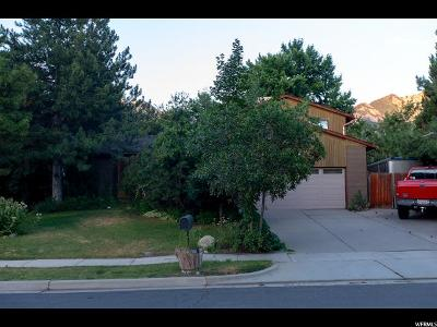 Sandy Single Family Home For Sale: 9637 S Jackson Cir E