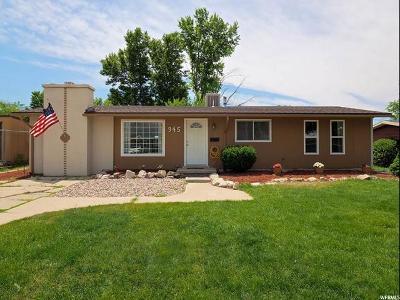 Ogden Single Family Home For Sale: 945 E Rancho Blvd
