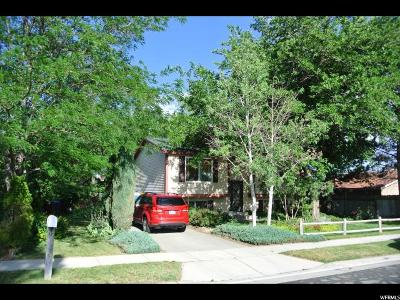 Salt Lake City Single Family Home For Sale: 6097 S Trowbridge
