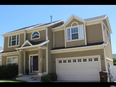 West Jordan Single Family Home For Sale: 6744 W Grevillea Ln