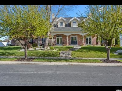 South Jordan Single Family Home For Sale: 1044 Park Palisade Dr