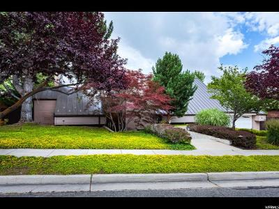 Salt Lake City Single Family Home For Sale: 1616 E Federal Heights Dr
