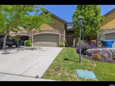Orem Townhouse For Sale: 1930 W Golden Pond Way
