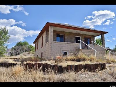 Helper Single Family Home For Sale: 1896 W 4000 N