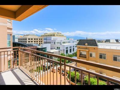 Salt Lake City Condo For Sale: 5 S 500 W #916