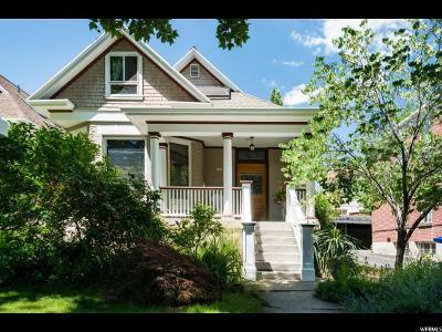 Salt Lake City Single Family Home For Sale: 375 E Third Avenue