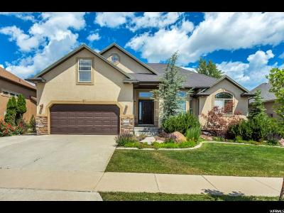 Draper Single Family Home For Sale: 2173 E Eagle Crest Drive Dr S