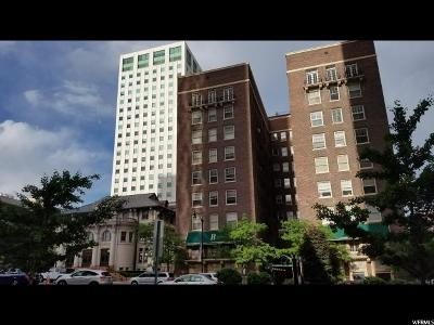 Salt Lake City Condo For Sale: 29 S State St E #309