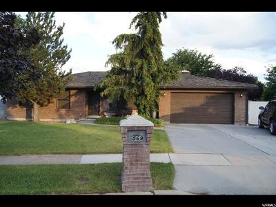Murray Single Family Home For Sale: 569 E Channel Cir