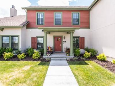 South Jordan Townhouse For Sale: 11314 S Jonagold Dr W