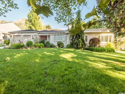 Holladay Single Family Home For Sale: 2624 E Rowland Dr S
