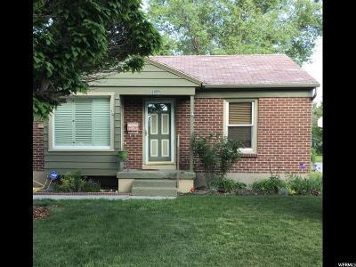 Salt Lake City UT Single Family Home For Sale: $240,000