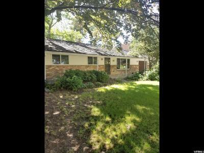 Provo Single Family Home For Sale: 2727 N Oneida Ln E