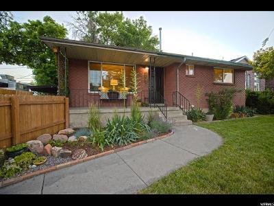 Salt Lake City Single Family Home For Sale: 2622 S 700 E