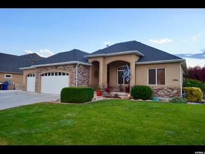 Spanish Fork Single Family Home For Sale: 1596 S 1960 E