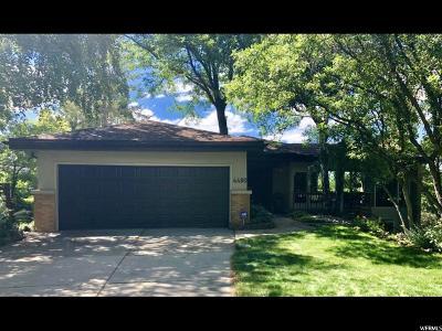 Salt Lake City Single Family Home For Sale: 4490 S Fortuna Way E