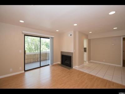 Cottonwood Heights Condo For Sale: 7204 S Ridgemeadow Ln E #2C