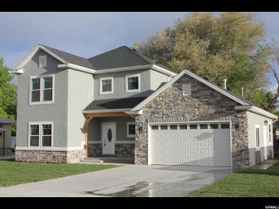 Salt Lake City Single Family Home For Sale: 83 W Shelley Ave S