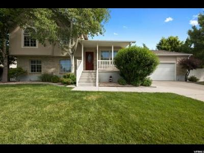 Murray Single Family Home For Sale: 1244 W Cove Park Cir S